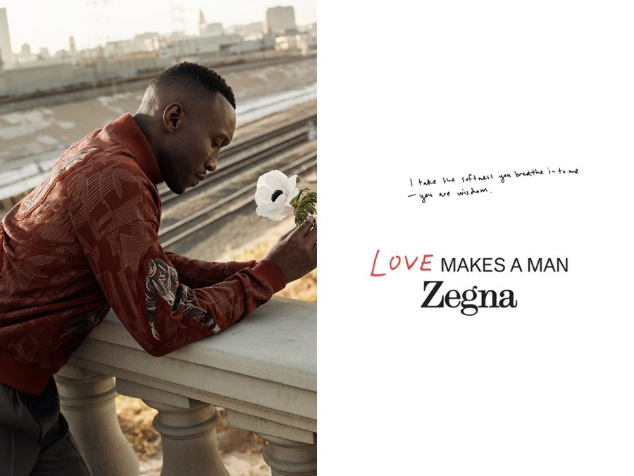 Mahershala Ali leads new Campaign for ZEGNA #WHATMAKESAMAN