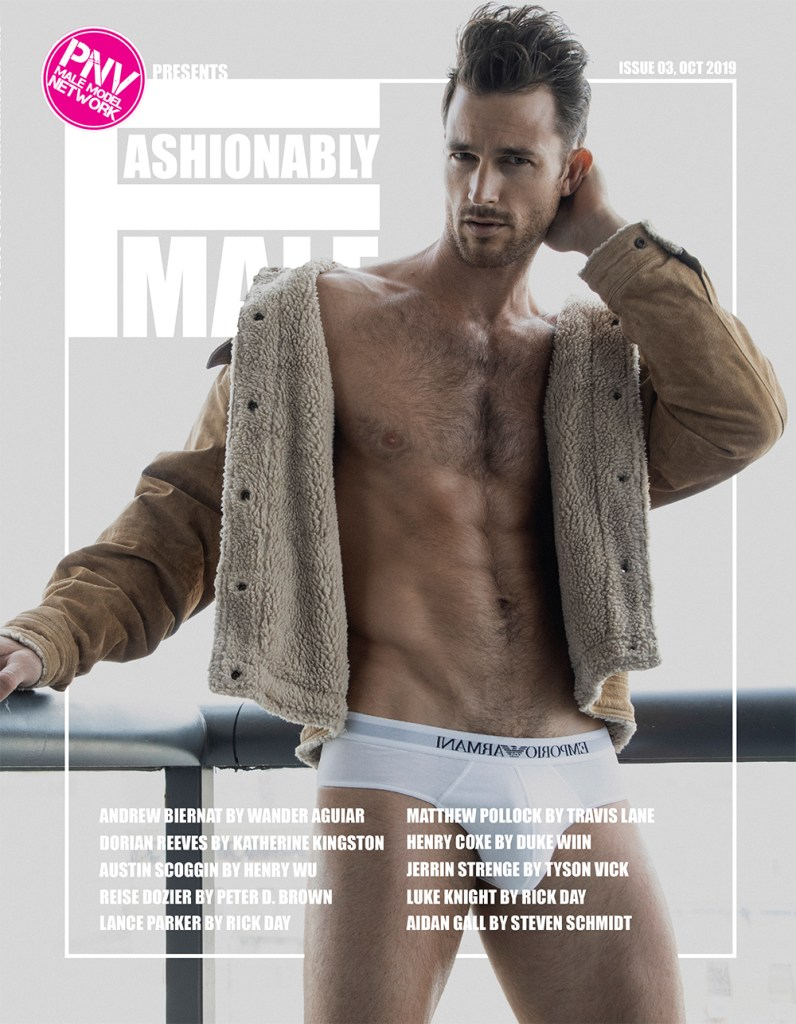 Lance Parker for PnVFashionablymale Magazine Issue 03