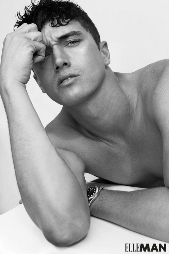 Matthew Holt for Elle Man October 2019