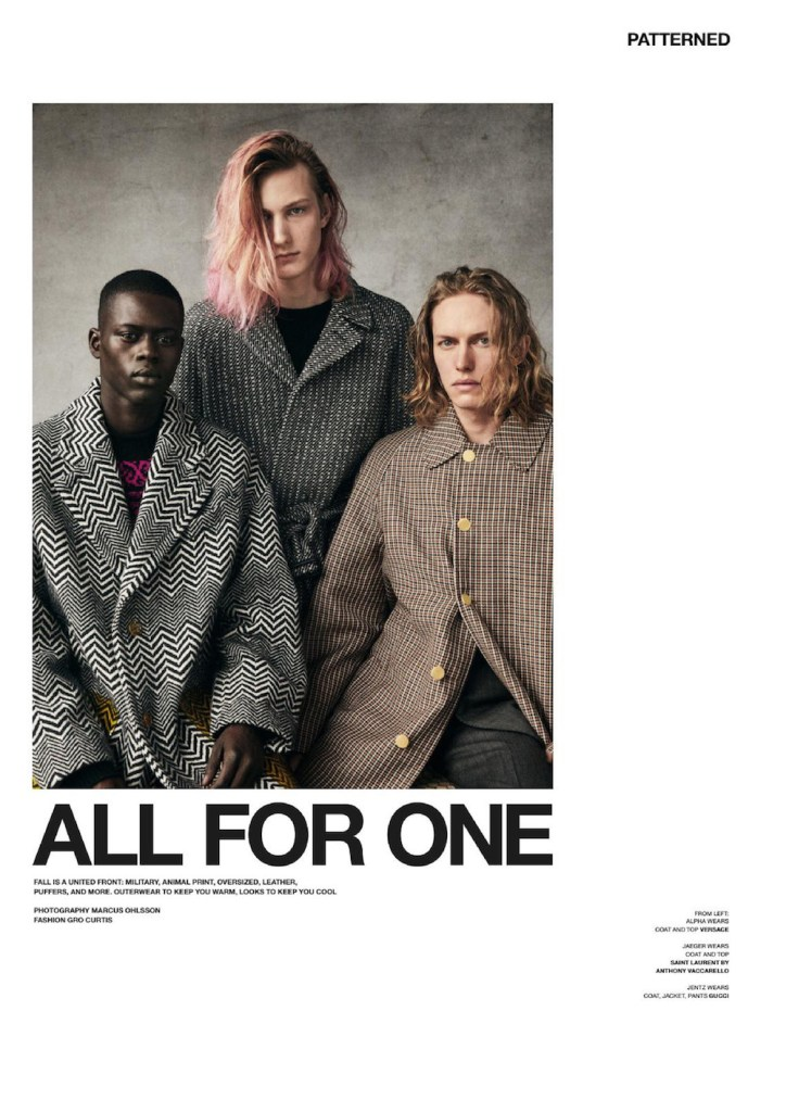 VMan Fall-Winter 2019.20 by Marcus Ohlsson