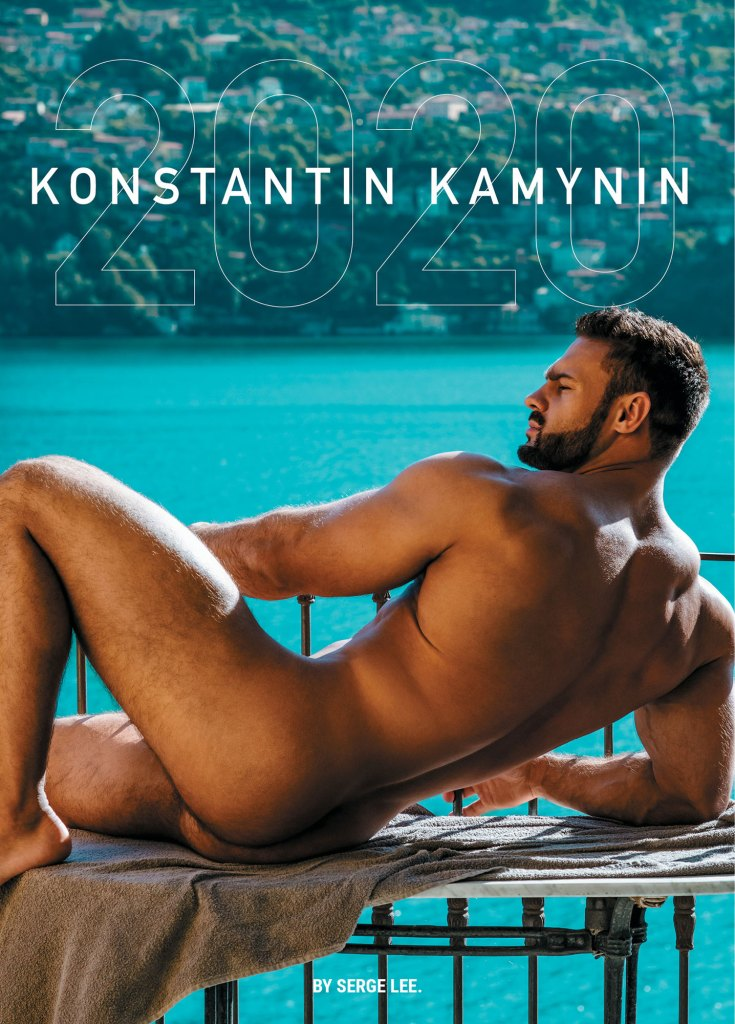 Calendar 2020 of Konstantin Kamynin by Serge Lee
