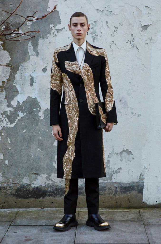 Alexander McQueen Menswear Fall Winter 2020 Milan