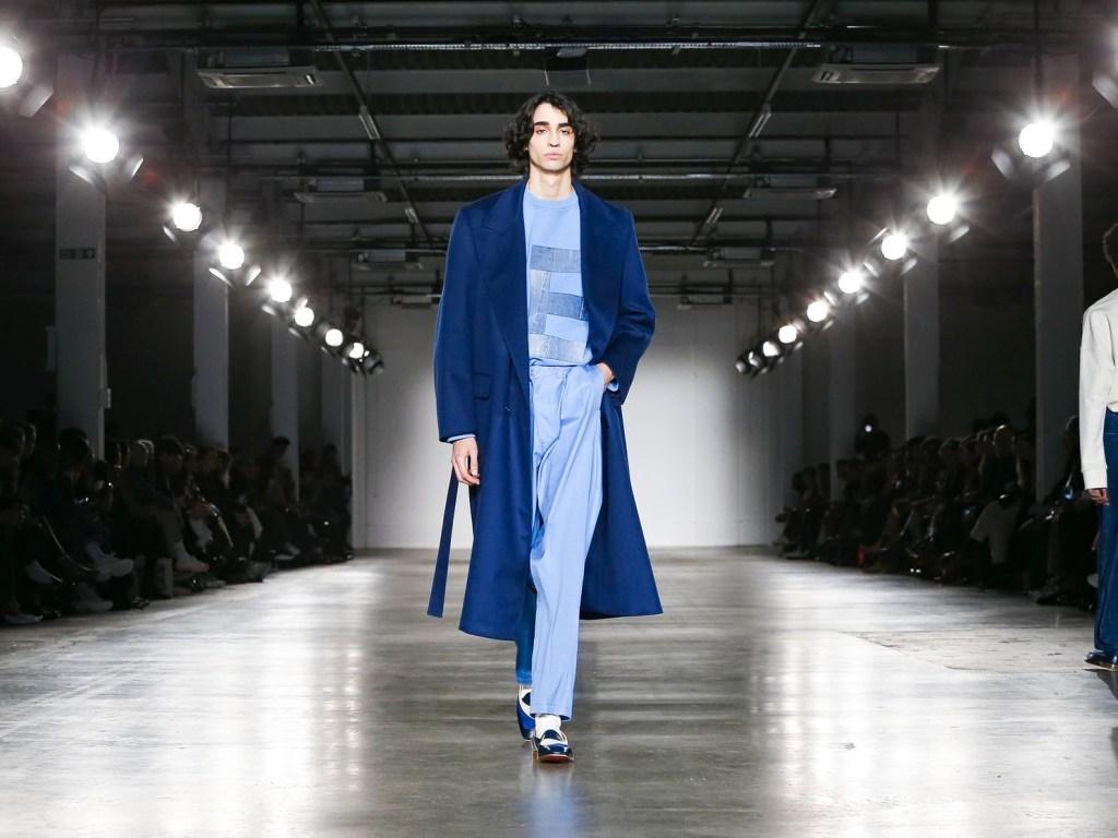 E. Tautz Menswear Fall Winter 2020 London cover