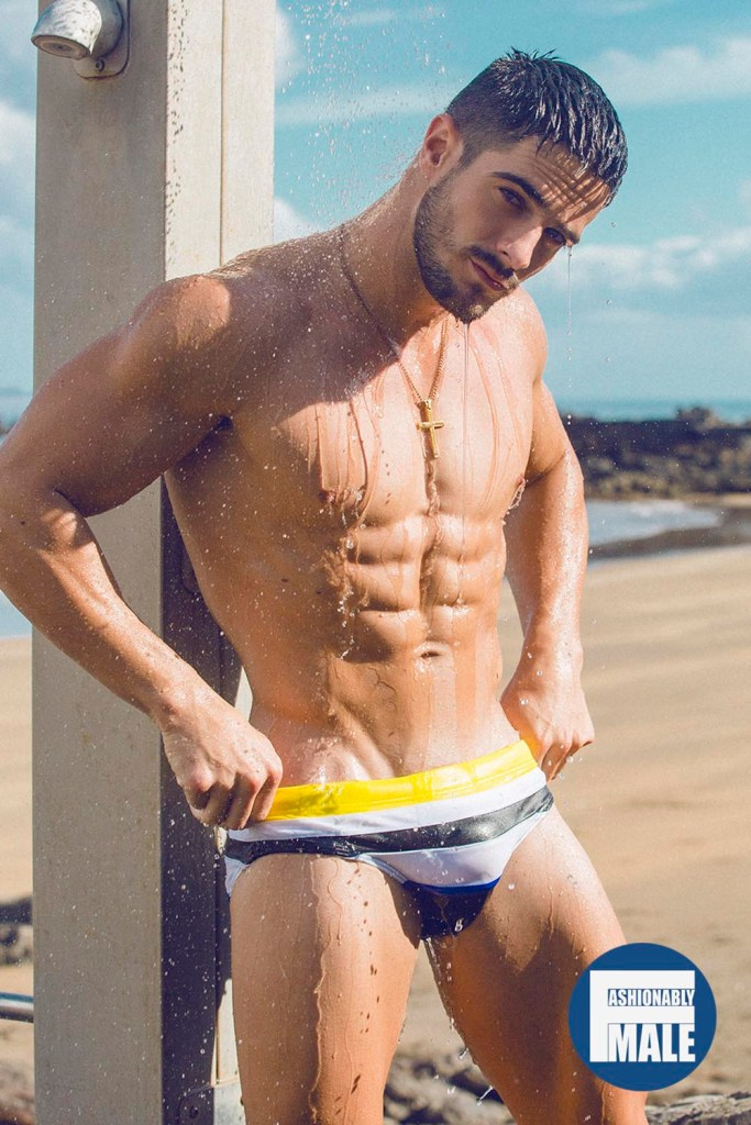 Jorge Cobian by Adrian C. Martin for Fashionably Male