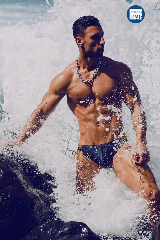 Daniel Gonzalez by Adrian C. Martín for Fashionably Male