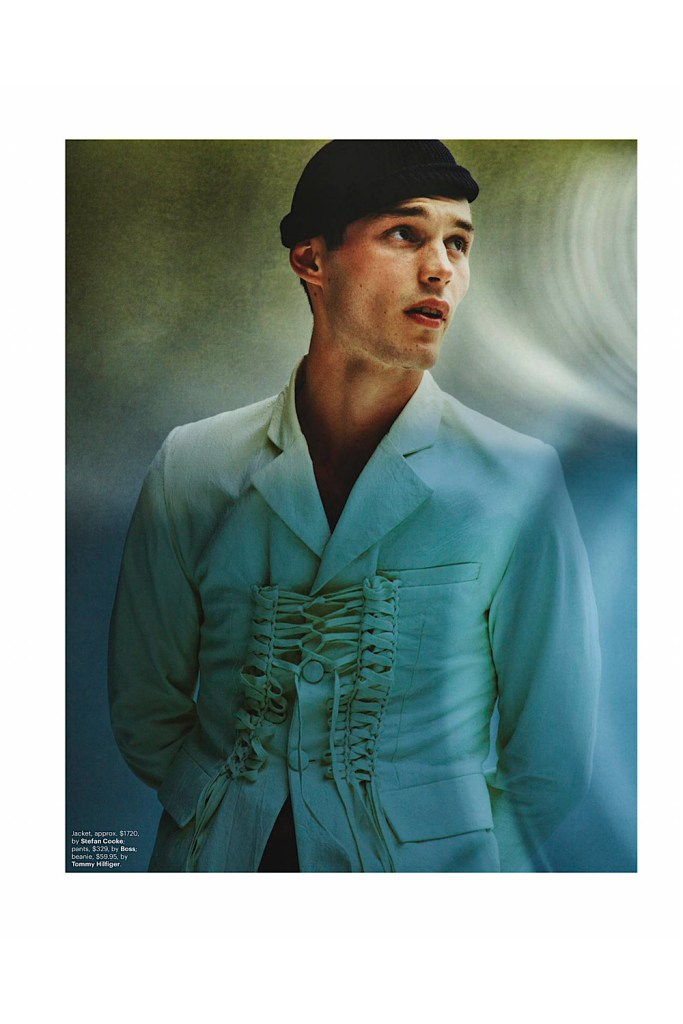 Kit Butler by Jake Terrey for GQ Australia March 2020 Editorial