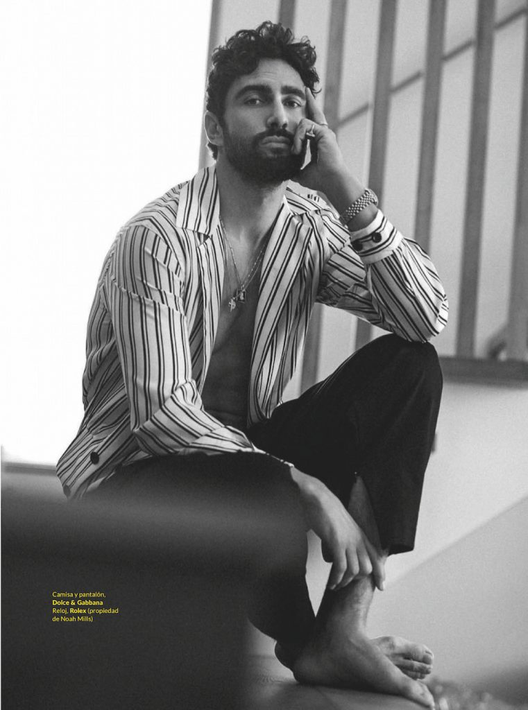 Noah Mills by Richard Ramos for GQ Style Mexico SS20 Editorial