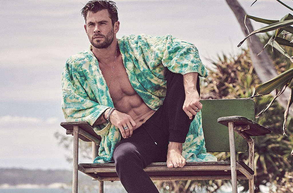 Chris Hemsworth for GQ Australia May/June 2020 by Matthew Brookes