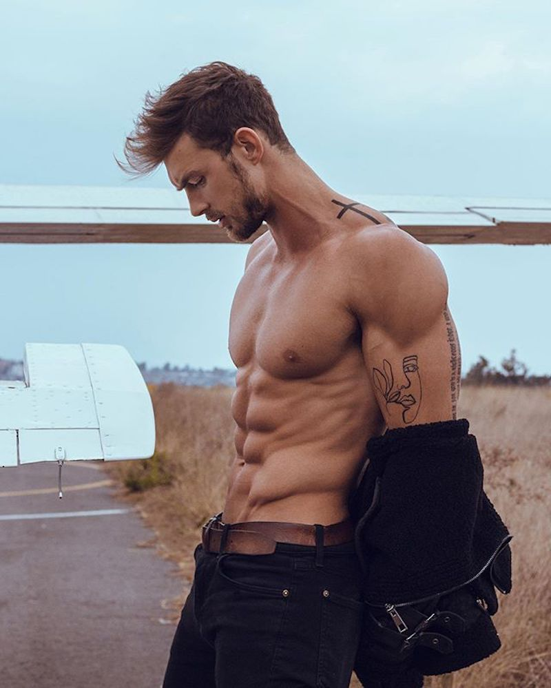 Christian Hogue by Victor Ozuna