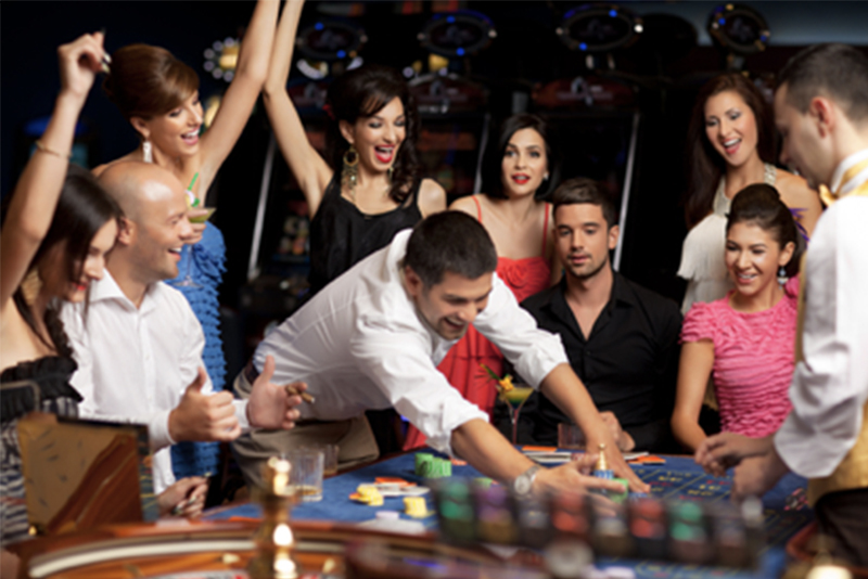 Looking your best in the casino cover