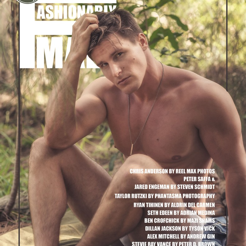 Chris Anderson for PnVFashionablymale Magazine Issue 06 cover edit