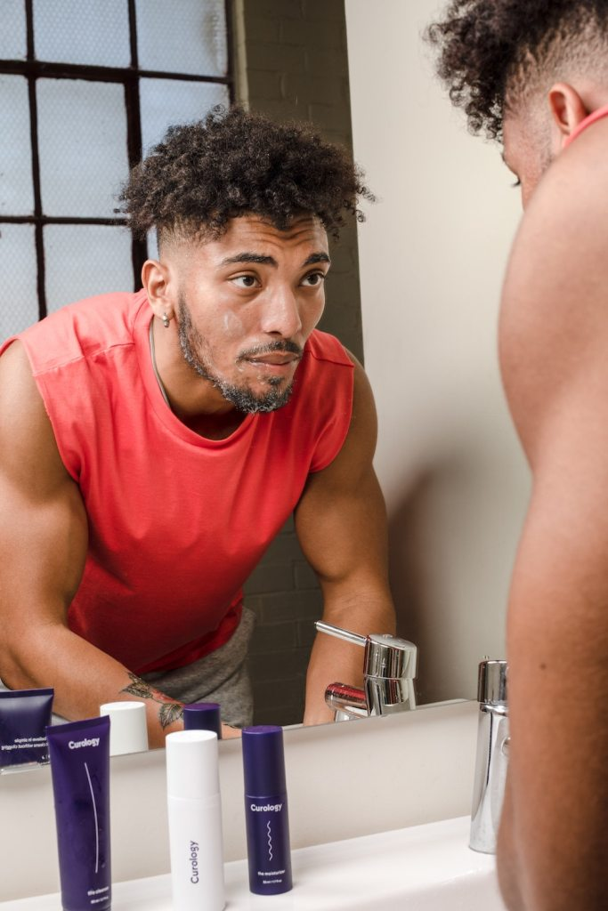 Daily Skincare Routine for Men with Magnetic Appearances