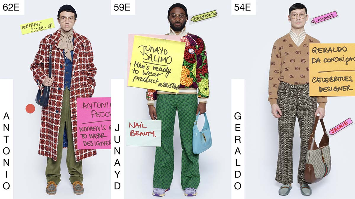 Gucci Menswear Resort 2021 Milan cover