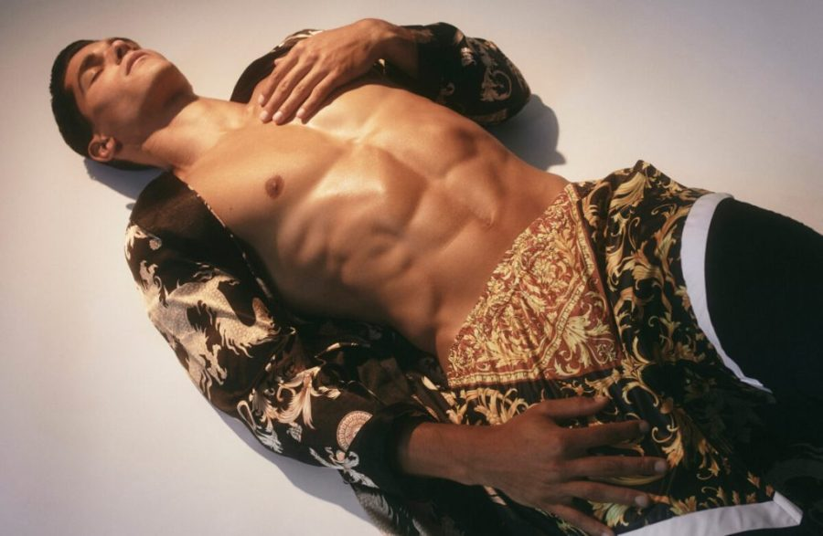 Top Model Trevor Signorino by  Brendan Wixted for IRIS Covet Book