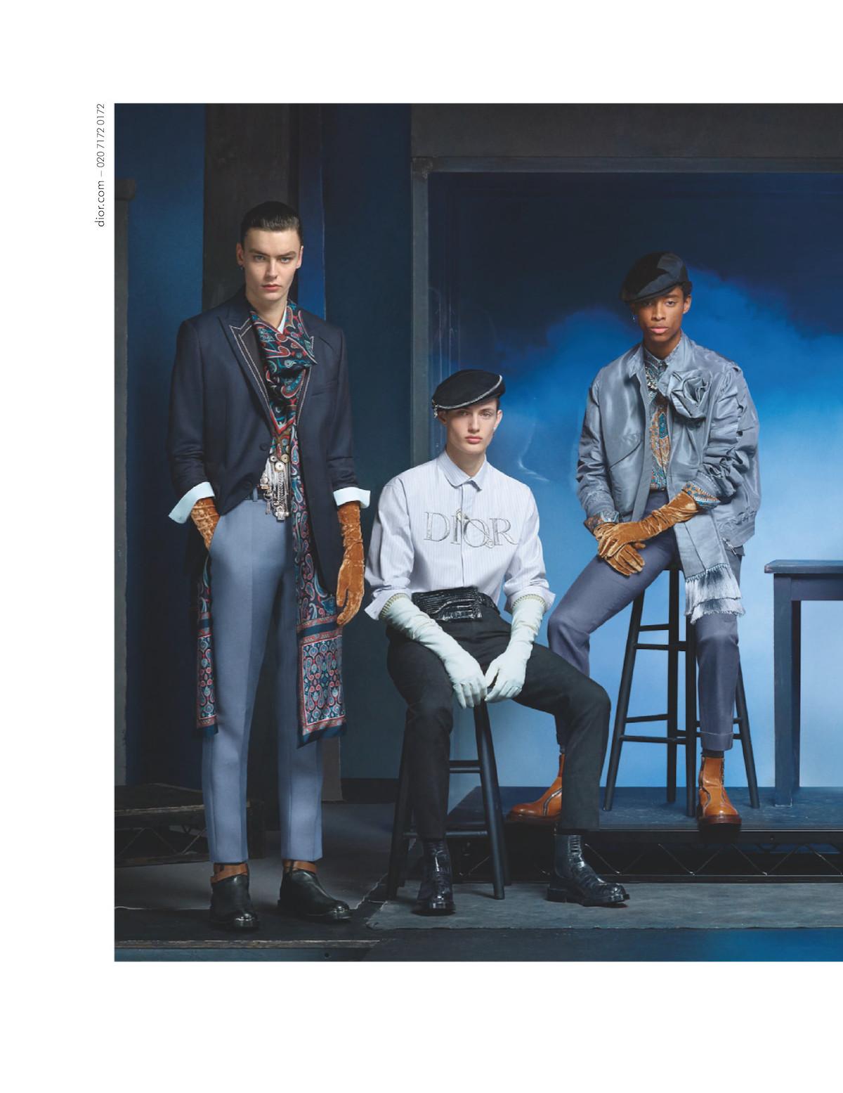 Dior Men Fall/Winter 2020-21 by Steven Meisel