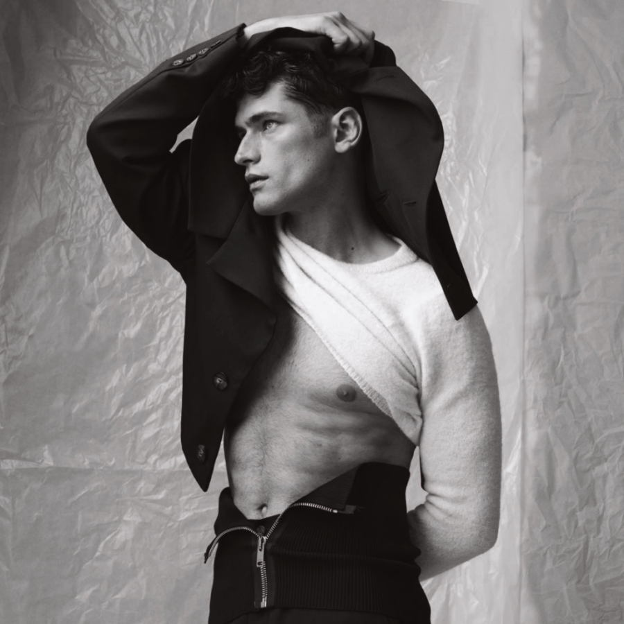 Top Model Sean O'Pry for WSJ Magazine Men's Style Special September 2020
