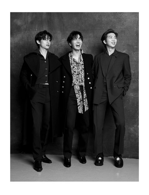 BTS for Esquire Winter 2020:2021 by Hong Jang Hyun