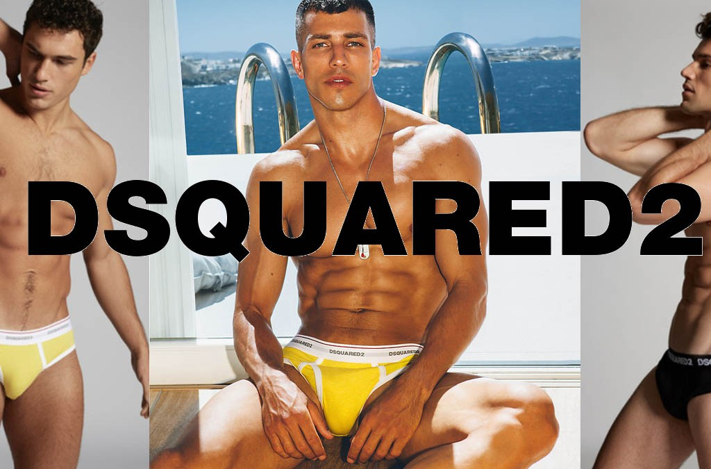 D2UNDERWEAR- Introducing the new Dsquared2 Underwear Campaign cover
