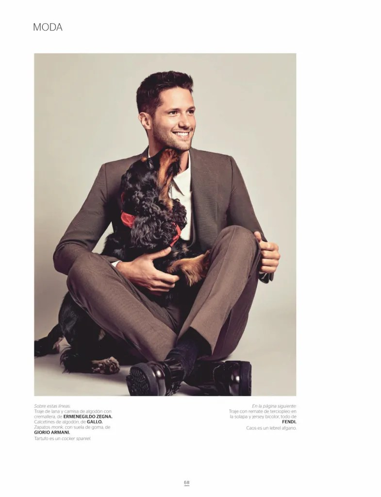 Man's Best Friends: Elia Cometti for Gentleman España November 2020