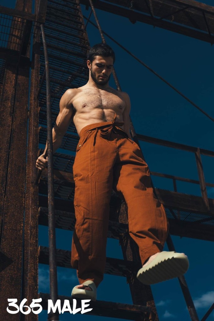 Model Levi Conely for 365 Male Magazine