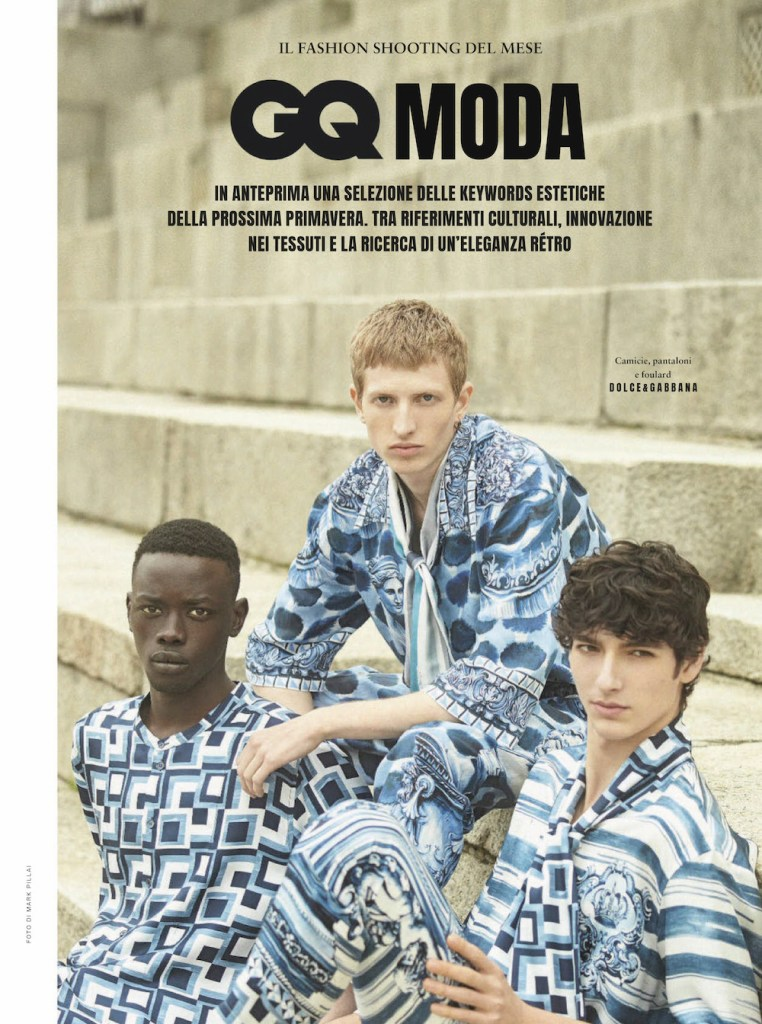 Hyper Styles GQ Italia January 2021 Editorial