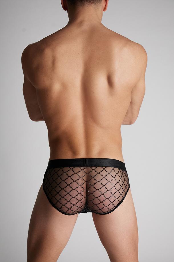 Dsquared2 Launches Valentine's Day Exclusive Online Underwear Sheer D2 Sequin Briefs