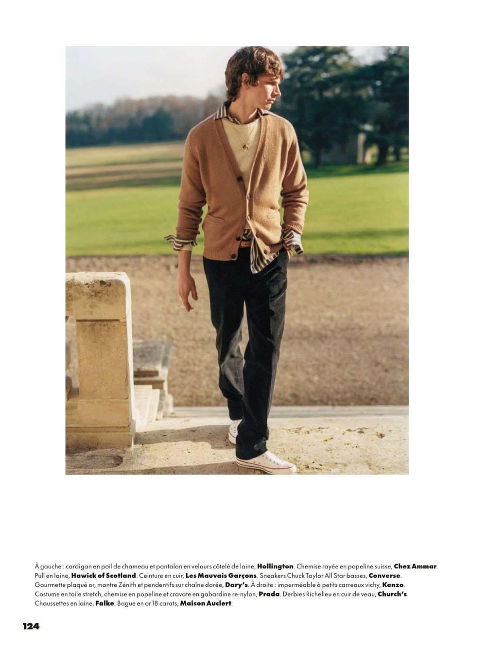 Erik van Gils by Scott Trindle for GQ France February 2021 Editorial