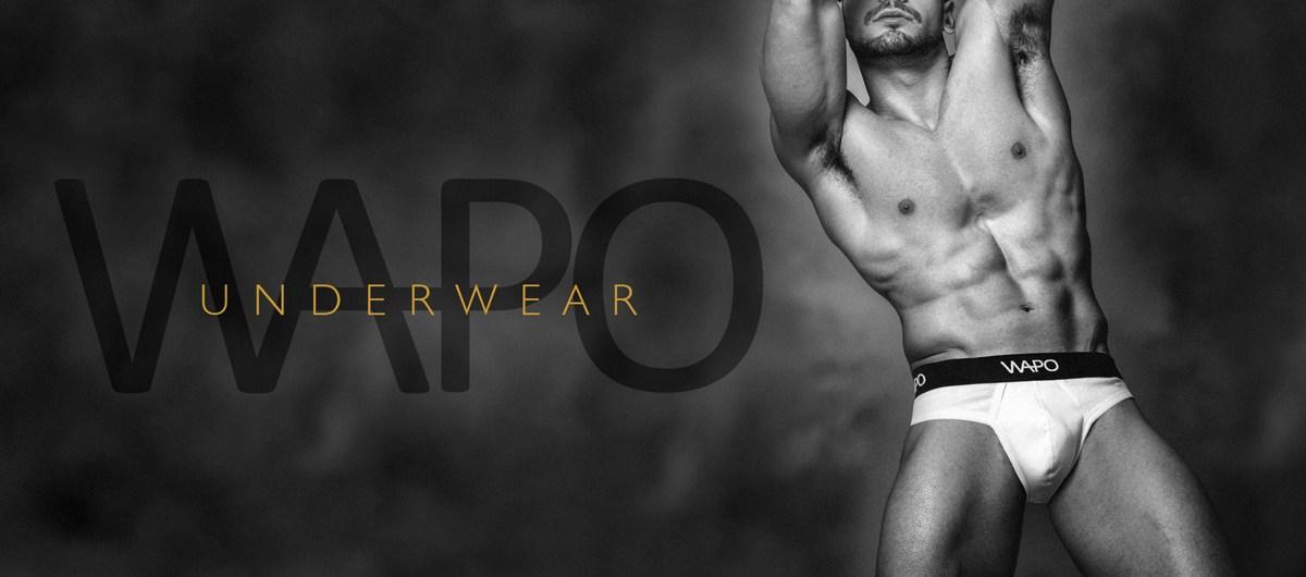 Matteo Sulas by Simone Pilia for WAPO Wear Underwear cover