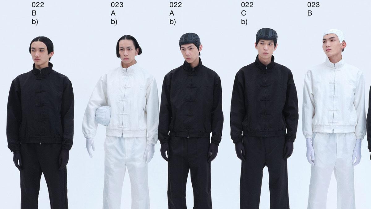 Xander Zhou Mens Fall 2021 London cover