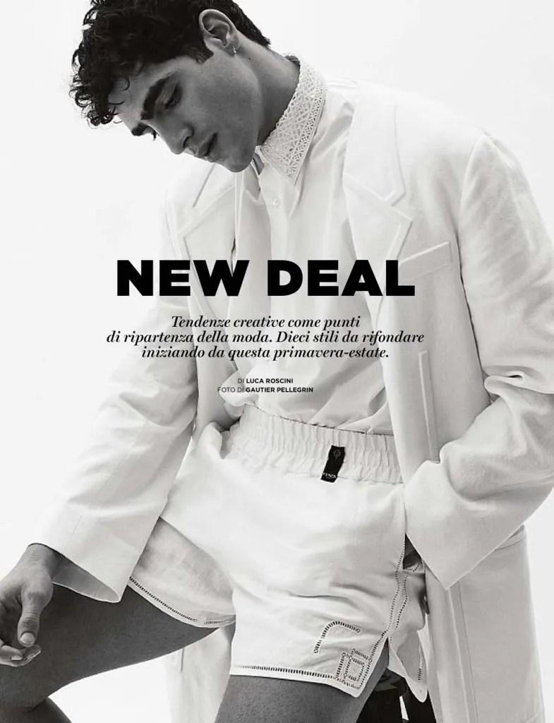 New Deal with Jhonattan Burjack by Gautier Pellegrin