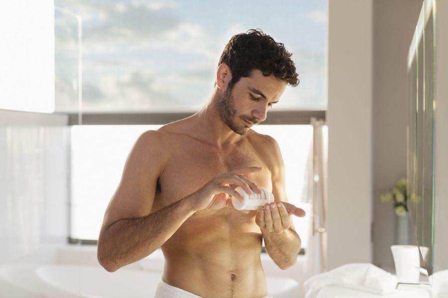 Supplements for skincare for men