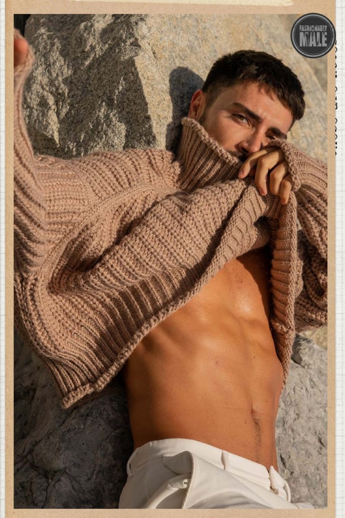 Leonel Lugon by Jon Gacela for Fashionably Male