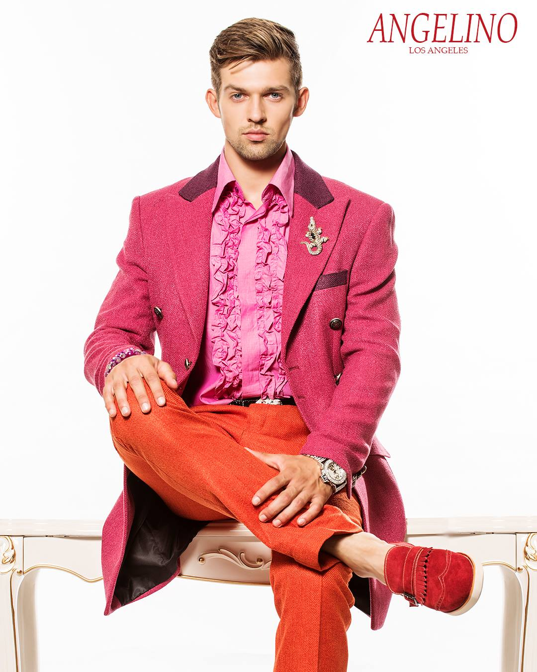 ANGELINO by Alex Angelino Fashion Suits1