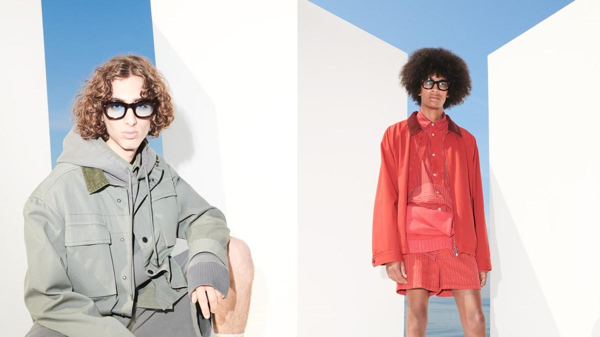 Andrea Pompilio for Harmont & Blain Menswear Spring 2022 Milan cover