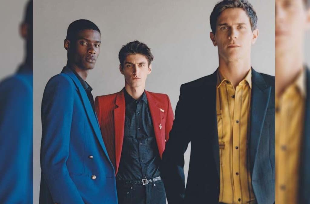 Contemporary Elegance by James Robjant fir GQ Italia Editorial cover