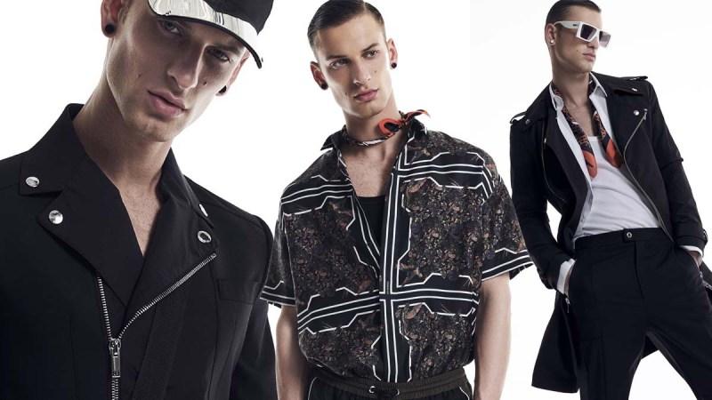 Les Hommes Menswear Spring 2022 Milan cover