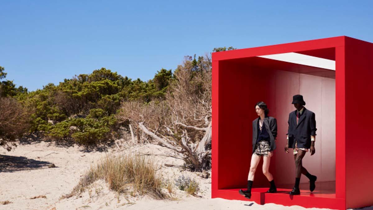 Prada Menswear Spring 2022 Milan cover