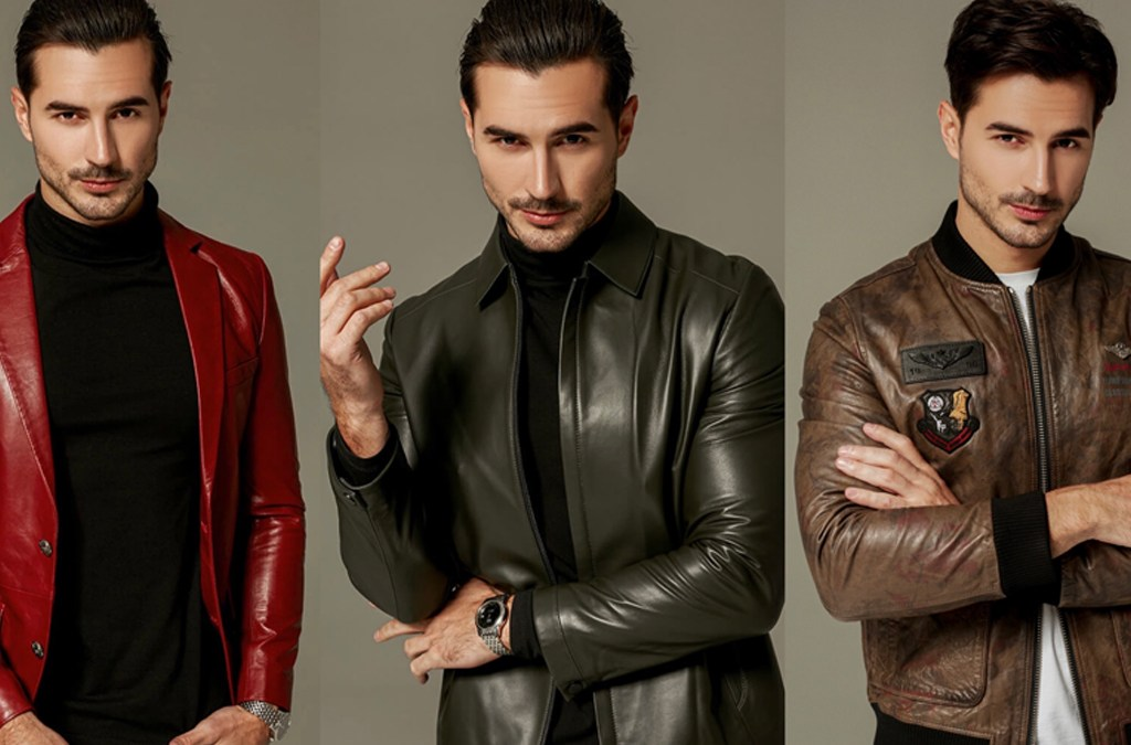 2022, The Best Year Of Men's Leather Jacket cover
