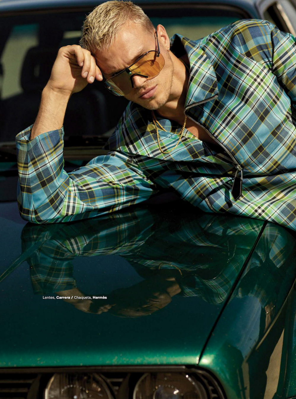 Matthew Noszka by Michael Schwartz GQ Mexico July 2021 Editorial