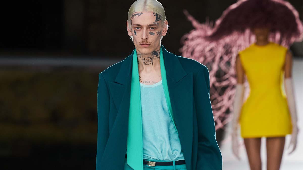 Valentino Couture Men's Fall 2021 cover