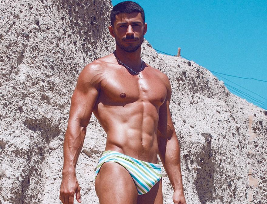Bruno Miranda by Adrián C. Martin for Fashionably Male cover