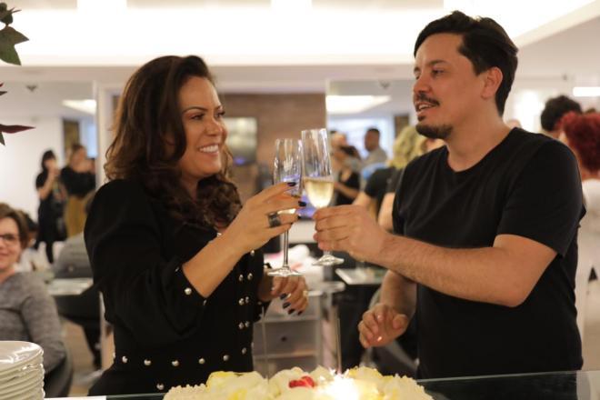 Elaine Haberkorn e Renato Faria