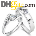 choose cheap but looks good fashion rings at DHgate