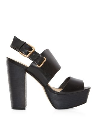 Chunky wooden platforms