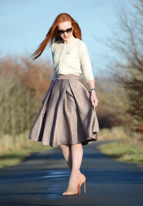 jacquard-skirt