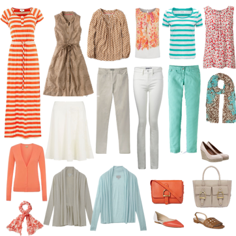 Wardrobe Colour Palette 1