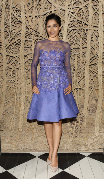 Freida-Pintos-Desert-Dancer-Screening-Elie-Saab-Couture-Purple-Floral-Appliqué-Dress-351x600