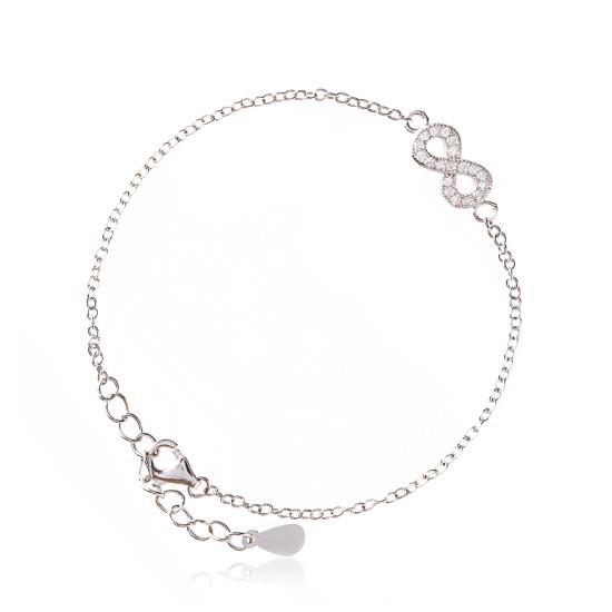Infinity-Bracelet-Silver-ALEXI-London-550x550