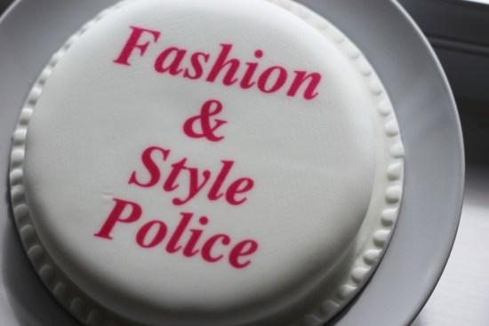 Fashion & Style Police Cake
