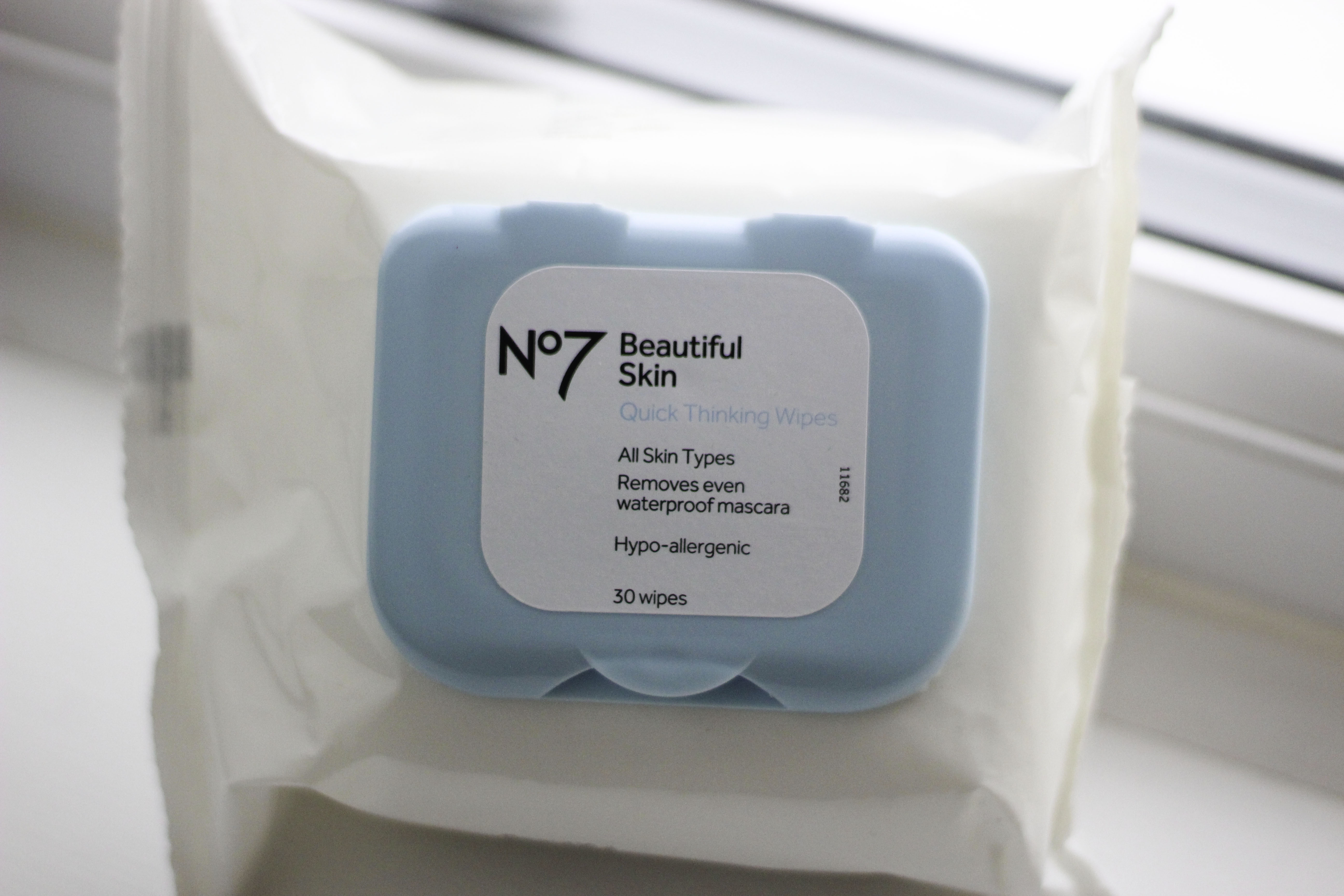 No 7 face wipes